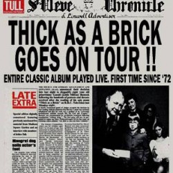 Thick as a brick- 2012